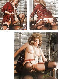 70's Amateur Vintage interracial pics
