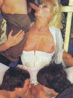 Karin Schubert - vintage oldschool classic Porn pics