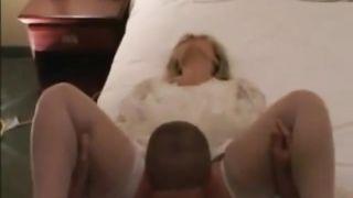 The Husband Gave his Wife a Gift Gan-bang with Big Dicks