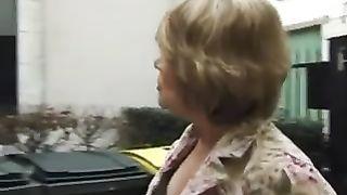 blonde anal mom