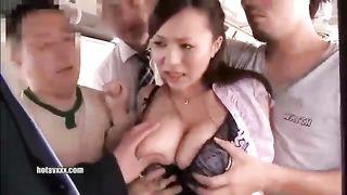 Ruri Saijo - Gangbang Molester SOE-657