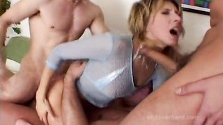 Cum Filled Asshole Overload Scene 2 - Janet Alfano