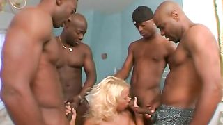 4X4 The Leather And Lace Gangbang 4