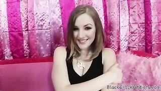 Kenzie Kyle White Chicks Licking Black Crack 4