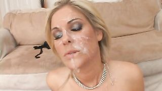 Fayth DeLuca - Sperm Splattered 4