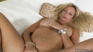 Glamorous Mature Lady Comes To My Raunchy POV Auditions