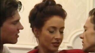 Eniko Borinsky gorgeous redhead threesome