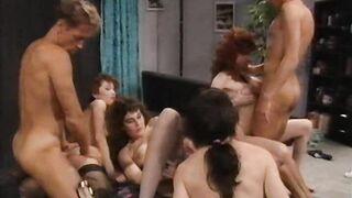 Gruppensex Total 20 (1994) Classic Porn